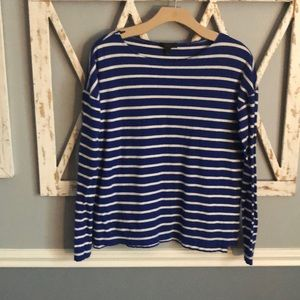 J. Crew | Stripe Long Sleeve T-shirt